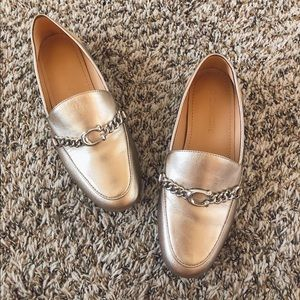 Coach Helena Loafer _ Champagne Size 5 G4749